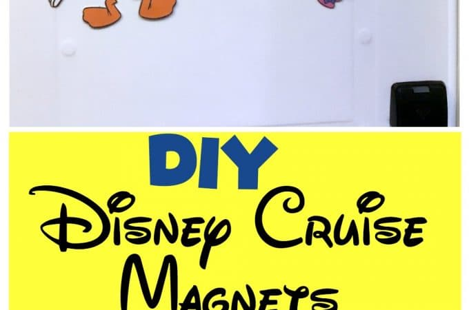 DIY Disney Magnets with Free Printable Files!