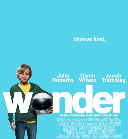 Wonder In Theaters TODAY!
