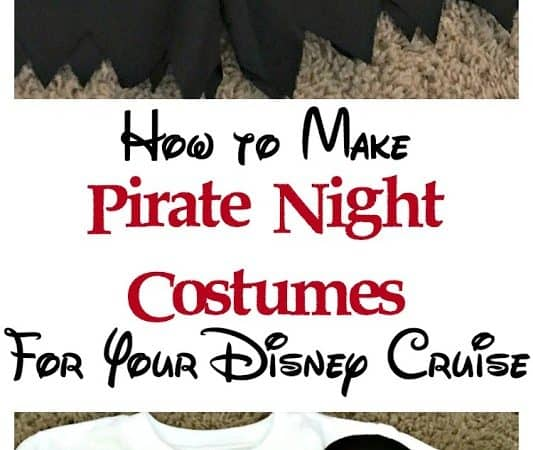 How to Make Pirate Night Costumes For Your Disney Cruise
