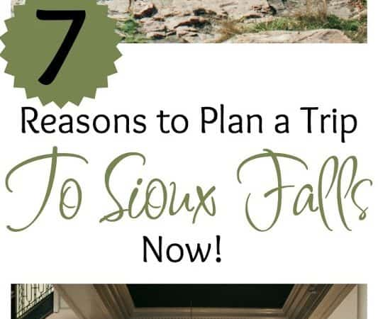 7 Reasons to Plan a Trip to Sioux Falls NOW! #WeAreHereSF #HIFromSD #ad