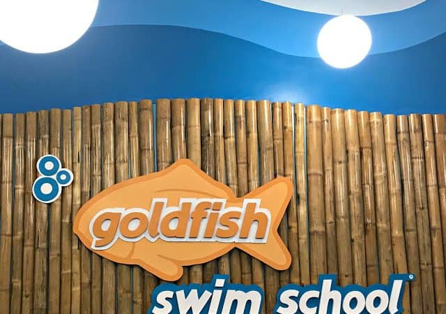 Our First Month at Goldfish Swim School