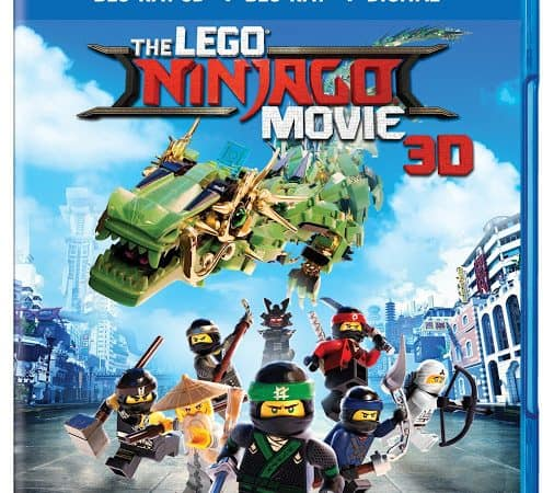 Lego NINJAGO® on Bluray Combo Pack Today!