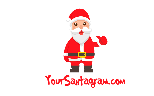 Get a Personalized and Unique #Santagram for Your Children!