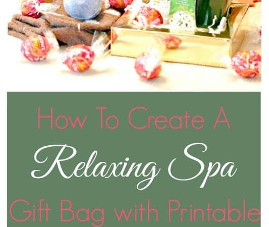 How to Create a Relaxing Spa Gift Bag with Glade® #GladeHolidayCheer [AD]