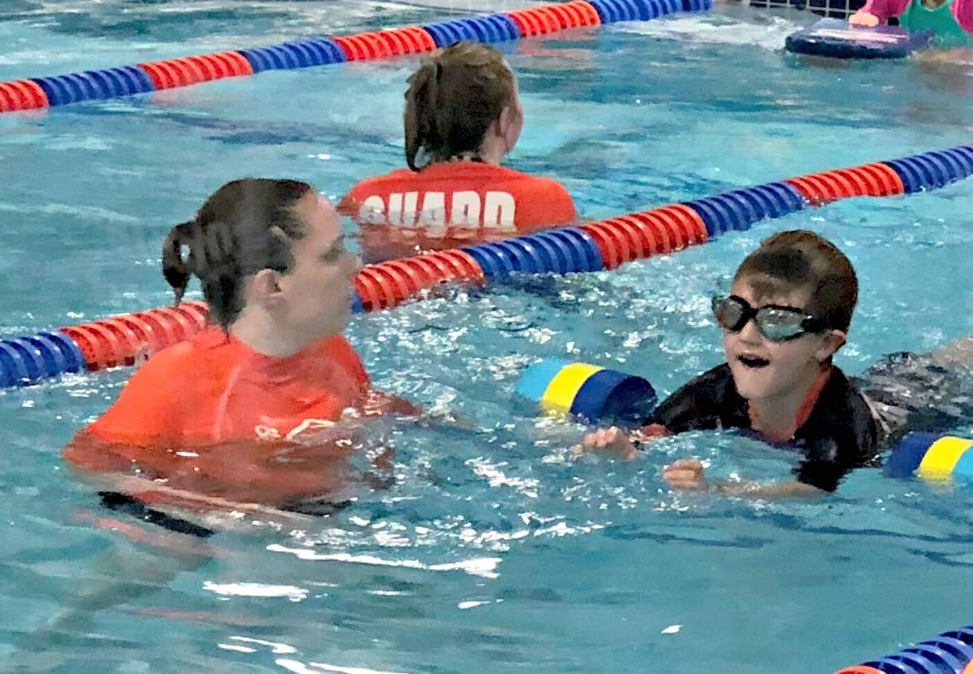 Month Two Progress With Goldfish Swim School We Got The Funk