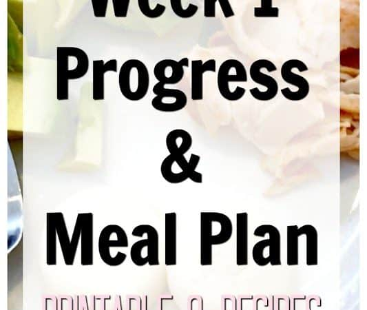 Week 1 LCHF Progress, Recipes & More