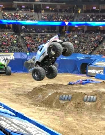 Family fun night at Monster Jam, Monster Jam Denver, Monster Jam, Pictures from Monster Jam, Enjoying Monster Jam, What is Monster Jam