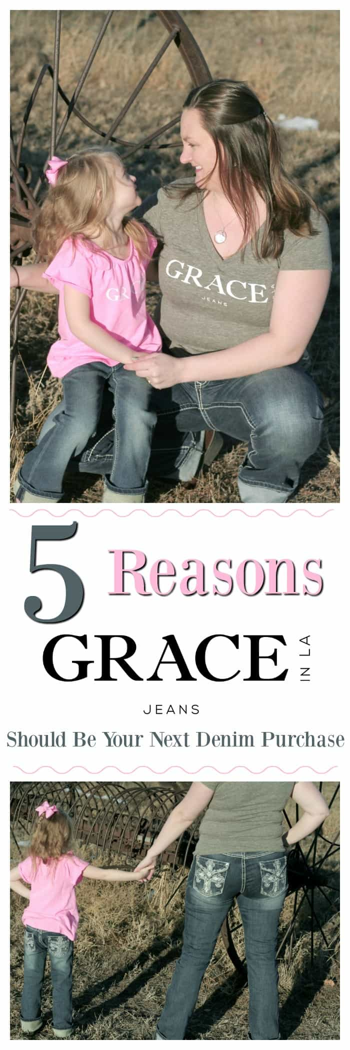 Grace In LA Review, What makes Grace In LA Different, What clothing styles does Grace In LA have, Is Grace In LA just western wear, Mommy and Me Jeans