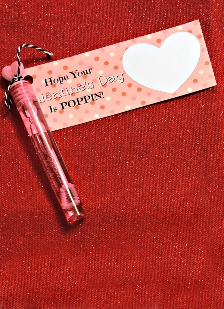How to make a valentines printable, How to make your own valentines, bubble valentine ideas