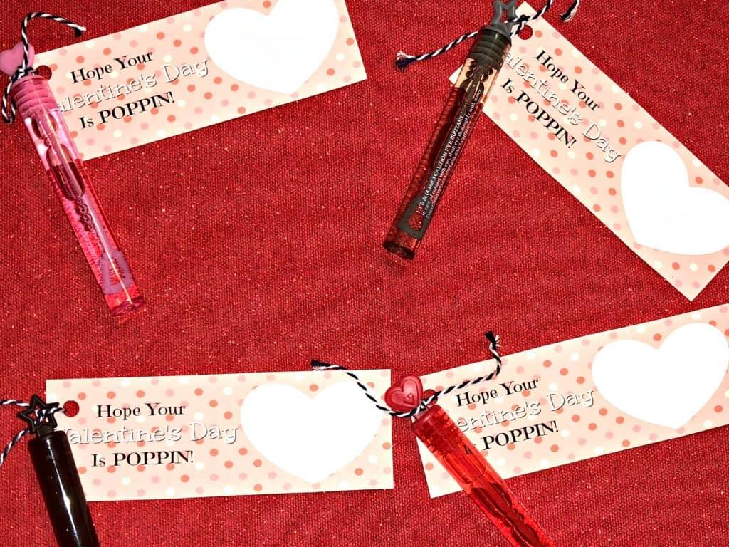 Valentines Bubble Printable