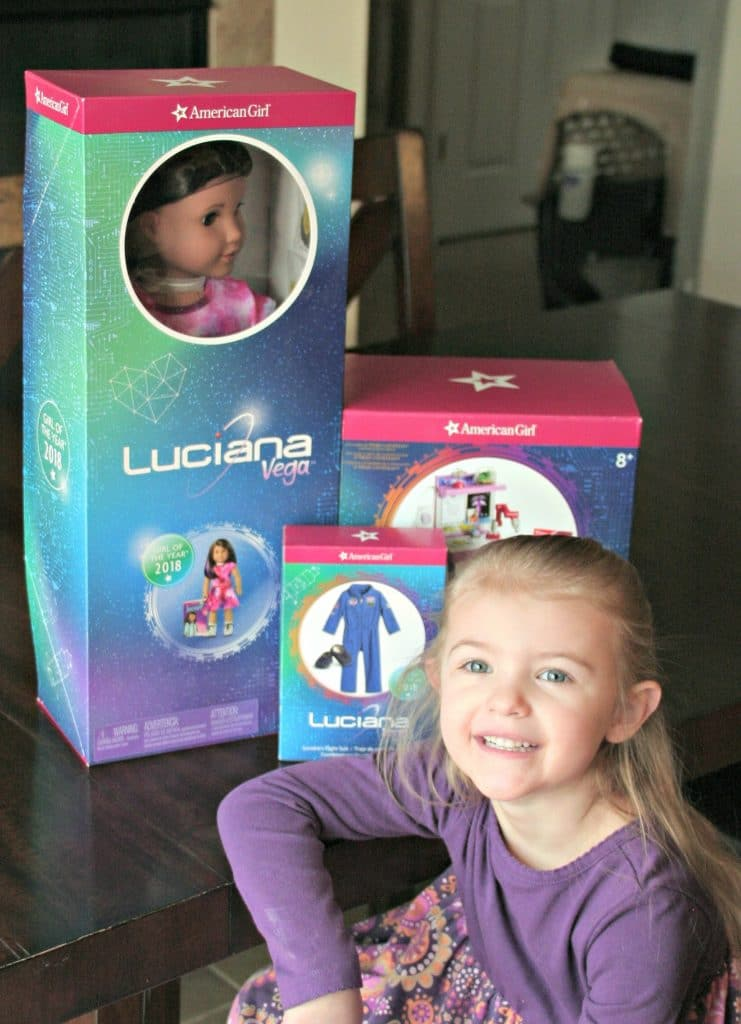 Luciana Vega, 2018 American Girl of the year, American girl giveaway, American Girl doll giveaway, 2018 American Girl of the year giveaway, Luciana Vega Doll giveaway