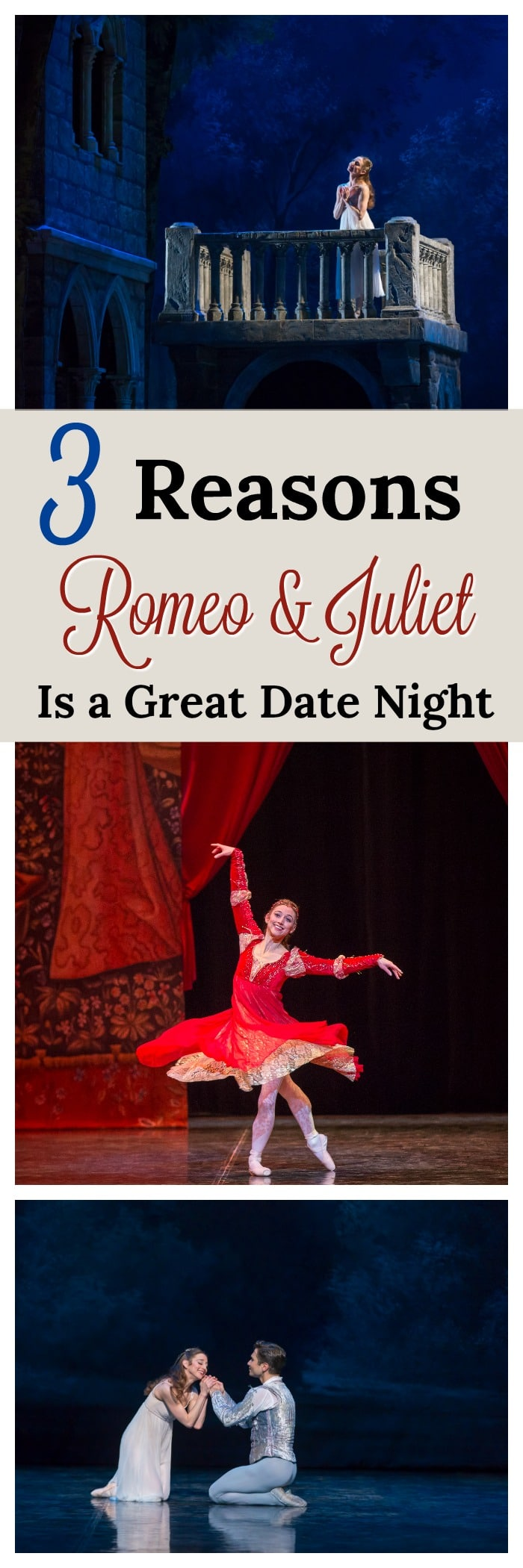 Romeo and Juliet date night ideas, date night at the colorado ballet, romeo and juliet colorado ballet