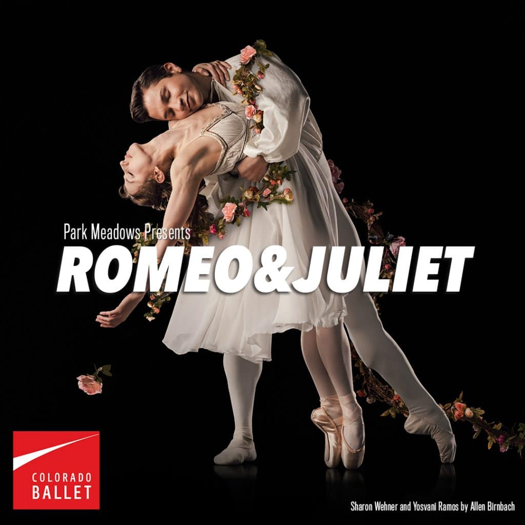 Romeo and Juliet, Colorado Ballet romeo and Juliet, Romeo and Juliet ballet, Where to see the ballet in Colorado, Tickets and show dates for Romeo and Juliet