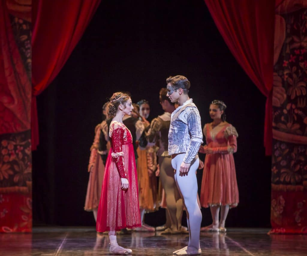 Romeo and Juliet Colorado ballet, Star crossed lovers photo, Romeo and Juliet performance photo