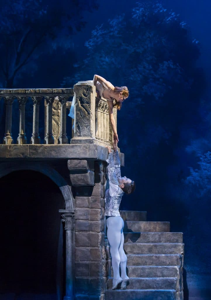 Balcony scene from Romeo and Juliet, Romeo and Juliet Ballet, Colorado Ballet