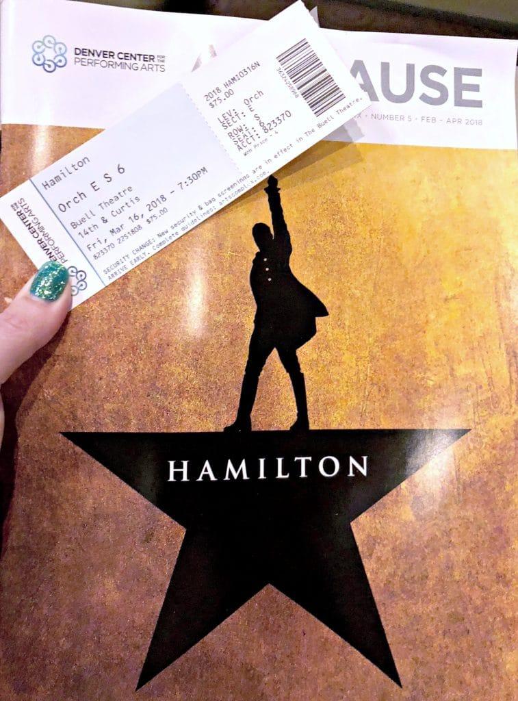Hamilton in Denver, review of Hamilton in Denver, Denver Colorado Hamilton tickets, How can you get tickets to Hamilton in Denver