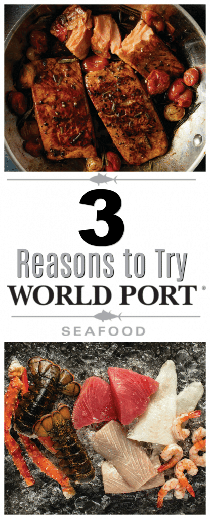 World Port Seafood, 3 reasons to try world port seafood, what is world port seafood, how to order world port seafood, is world port seafood part of omaha steaks, how fresh is world port seafood