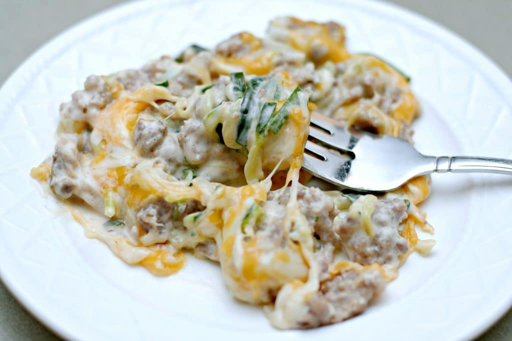 Are you looking for Low Carb Meal Planning and Recipes? This post features a quick run through of a low carb meal plan for diabetics. Adding Glucerna to your meal plan is very helpful and there is an ibotta offer right now. Grab this recipe for this Low Carb Cheesy Zucchini Alfredo and get to meal planning.