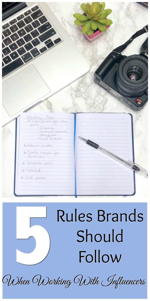 Brand influencer relationships are important. Check out this post on the 5 rules brands should follow when working with influencers on the Amélie blog today for some amazing tips for both brands and influencers.