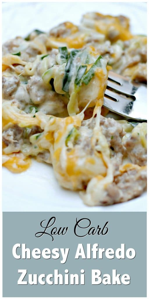 Are you looking for Low Carb Meal Planning and Recipes? This post features a quick run through of a low carb meal plan for diabetics. Grab this recipe for this Low Carb Cheesy Zucchini Alfredo and get to meal planning.