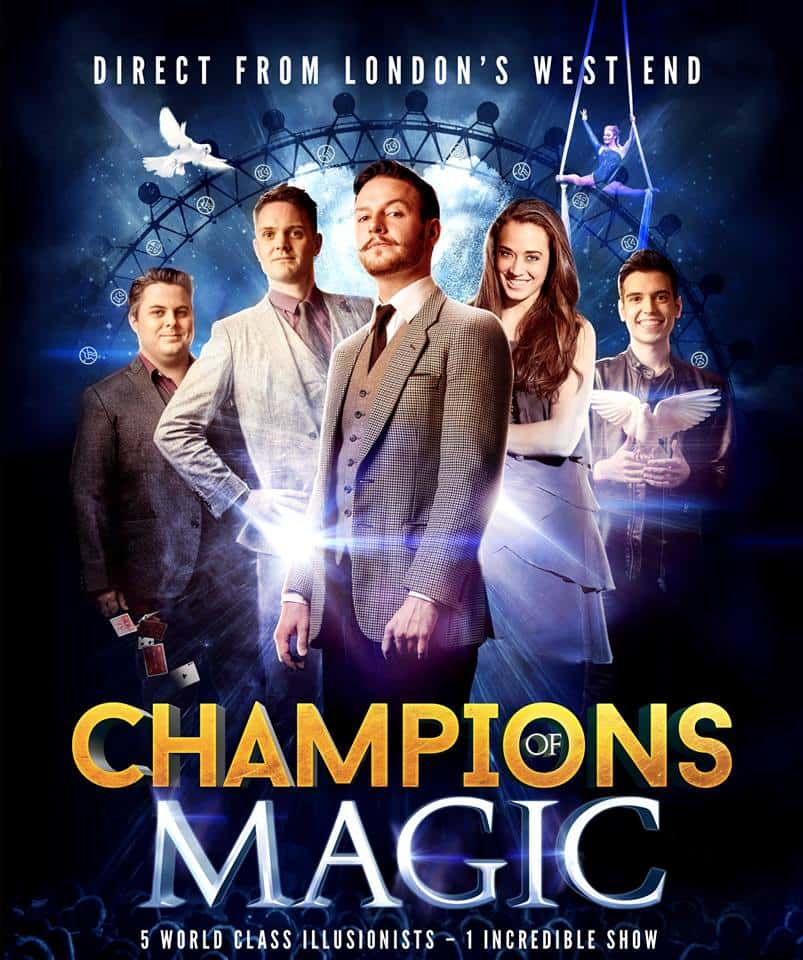 Champions of Magic is coming to Denver, want tickets? Looking for a discount code for Champions of Magic? Want to win Champions of Magic tickets? Everything you need to know about this hit UK show is in this post!