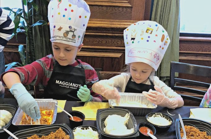 Our Awesome Experience at Maggiano's Kids Cooking Class