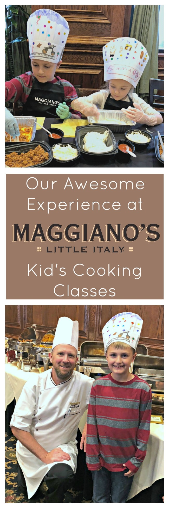 Maggiano's kid's cooking class, cooking classes in Denver for kids, kids cooking classes Colorado, events for kids at Maggiano's Little Italy