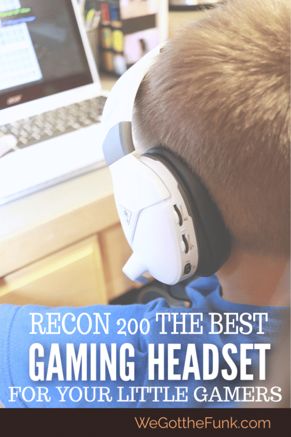 The best gaming headset for little gamers, Turtle Beach Recon 200 headset review, where to buy the recon 200 headset, Gaming headset with microphone and adjustable mic sound, best gaming headset for kids