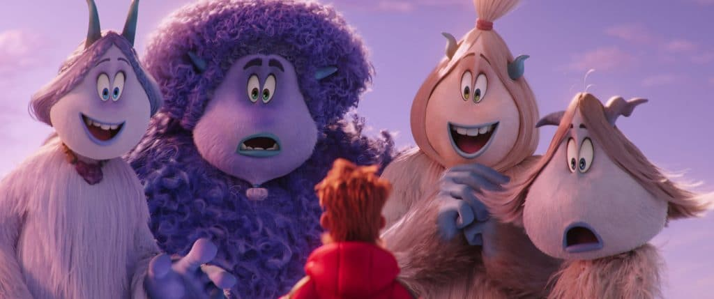 3 important themes for families from smallfoot, smallfoot review, smallfoot movie themes, smallfoot movie poster, smallfoot movie photos