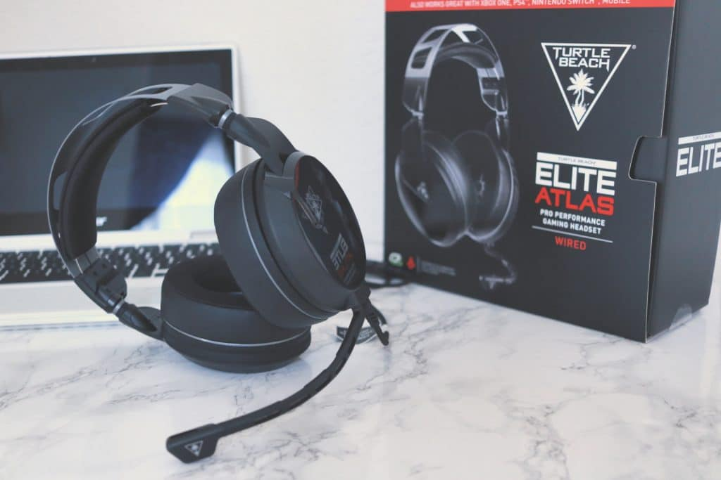 Elite Atlas Headset, Top of the line PC gaming headset, ultimate gaming headset, best gaming headset, Turtle Beach gaming headset, PC gaming headset