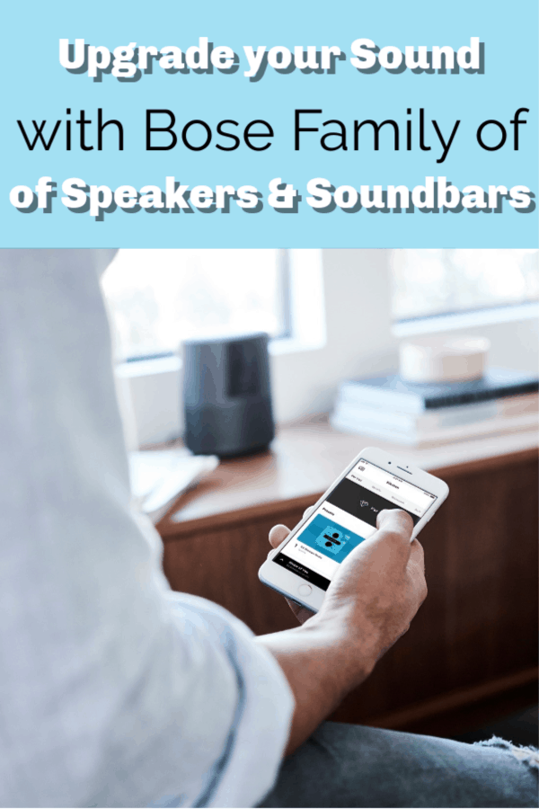 Upgrade Your Sound with Bose Family of Speakers and