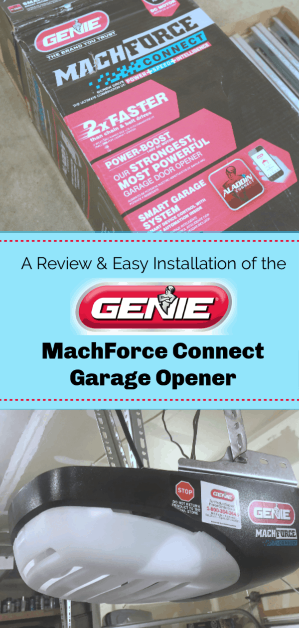 You Need The Genie Machforce Connect Garage Opener And