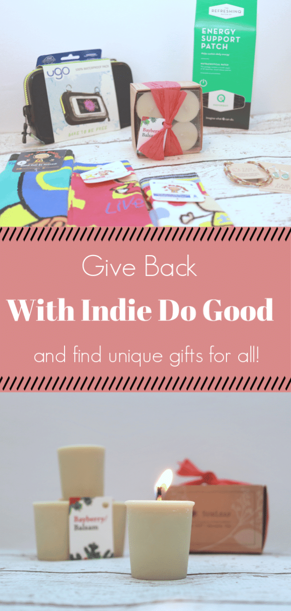 Indie Do Good, Giving back, Companies that give back with purchase, how to easily give back this holiday season, products that donate to charity, Companies that donate to charity
