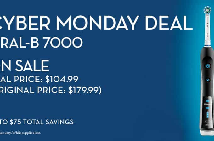 Cyber Monday is Here and Oral-B Has Another Massive Deal