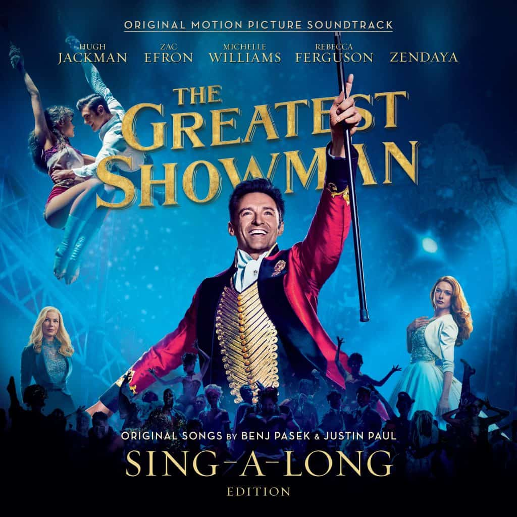 #TGSsingalong, #TGSreimagined, #ad The Greatest Showman Reimagined, The Greatest Showman Sing-A-Long, The Greatest Showman album cover, songs from the greatest showman reimagined album
