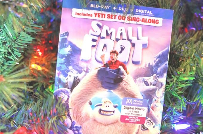 Everything you Need to Know about the Smallfoot DVD Release and a Giveaway!