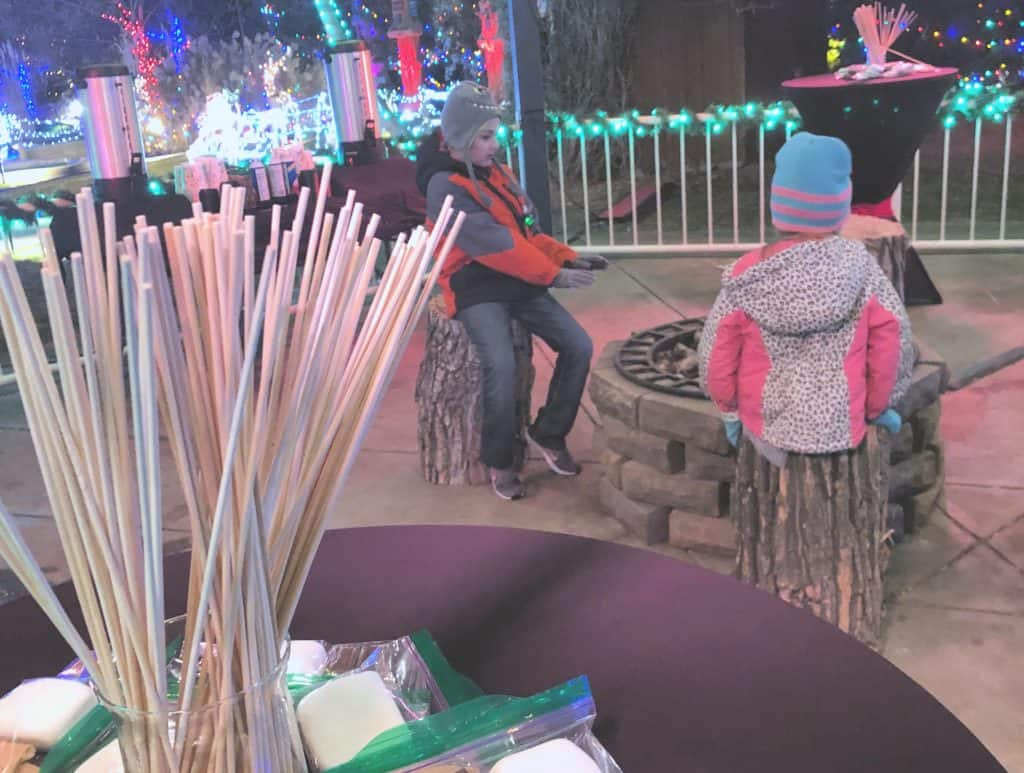 Adventure Golf and Raceway Holiday Lights