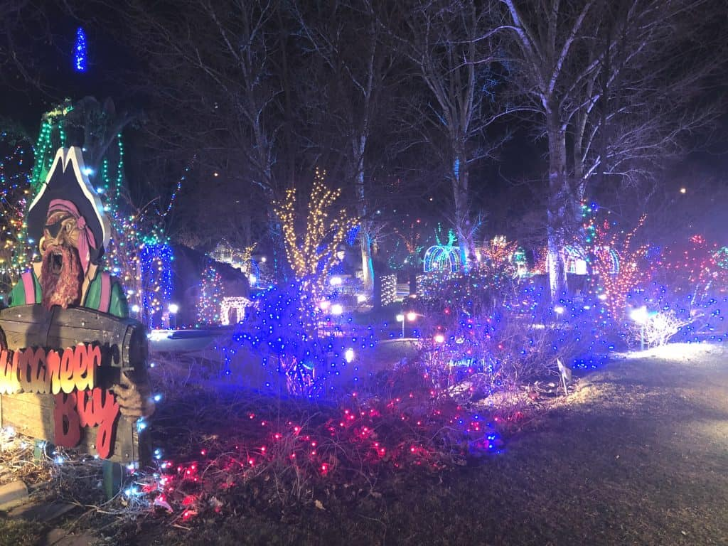 Where to see Christmas lights in Denver