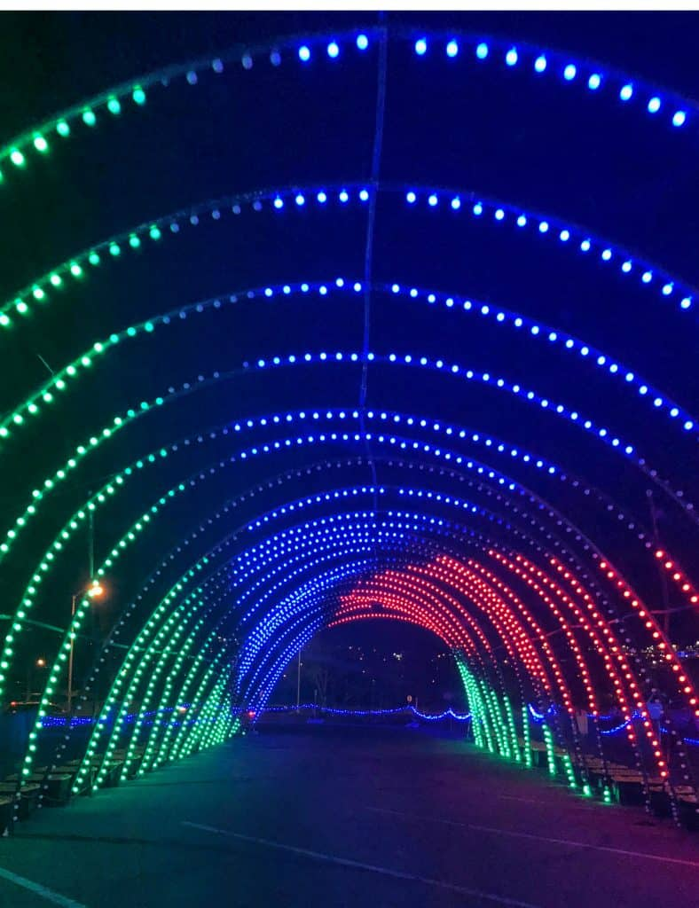 Christmas in Color, Christmas in Color Denver, Drive through lights in Colorado, Drive through christmas light in Denver, Denver light displays, know before you go christmas in color