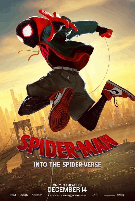 Spider-Man: Into the Spider-Verse movie poster, Spider-Man: Into the Spider-Verse Review, Spider-Man: Into the Spider-Verse trailer