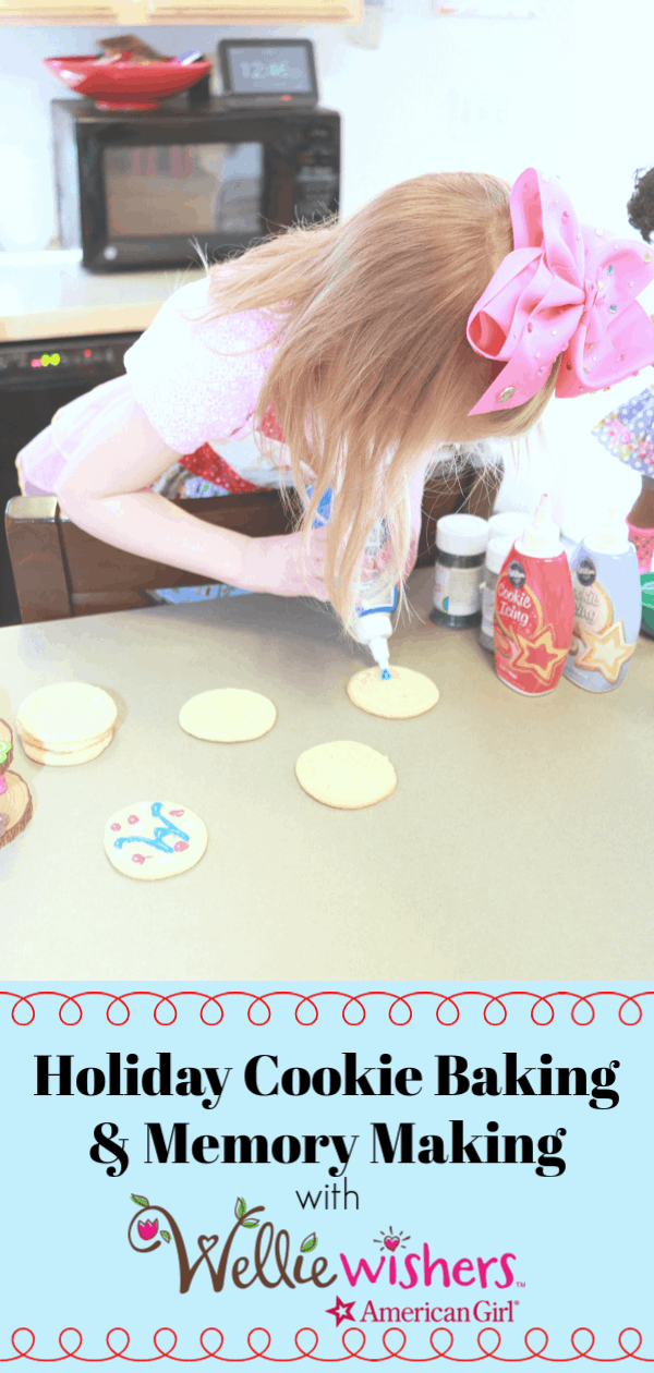 Cookie Baking, American Girl WellieWishers, WellieWishers Emerson, WellieWishers Accessories, WellieWishers Kendall