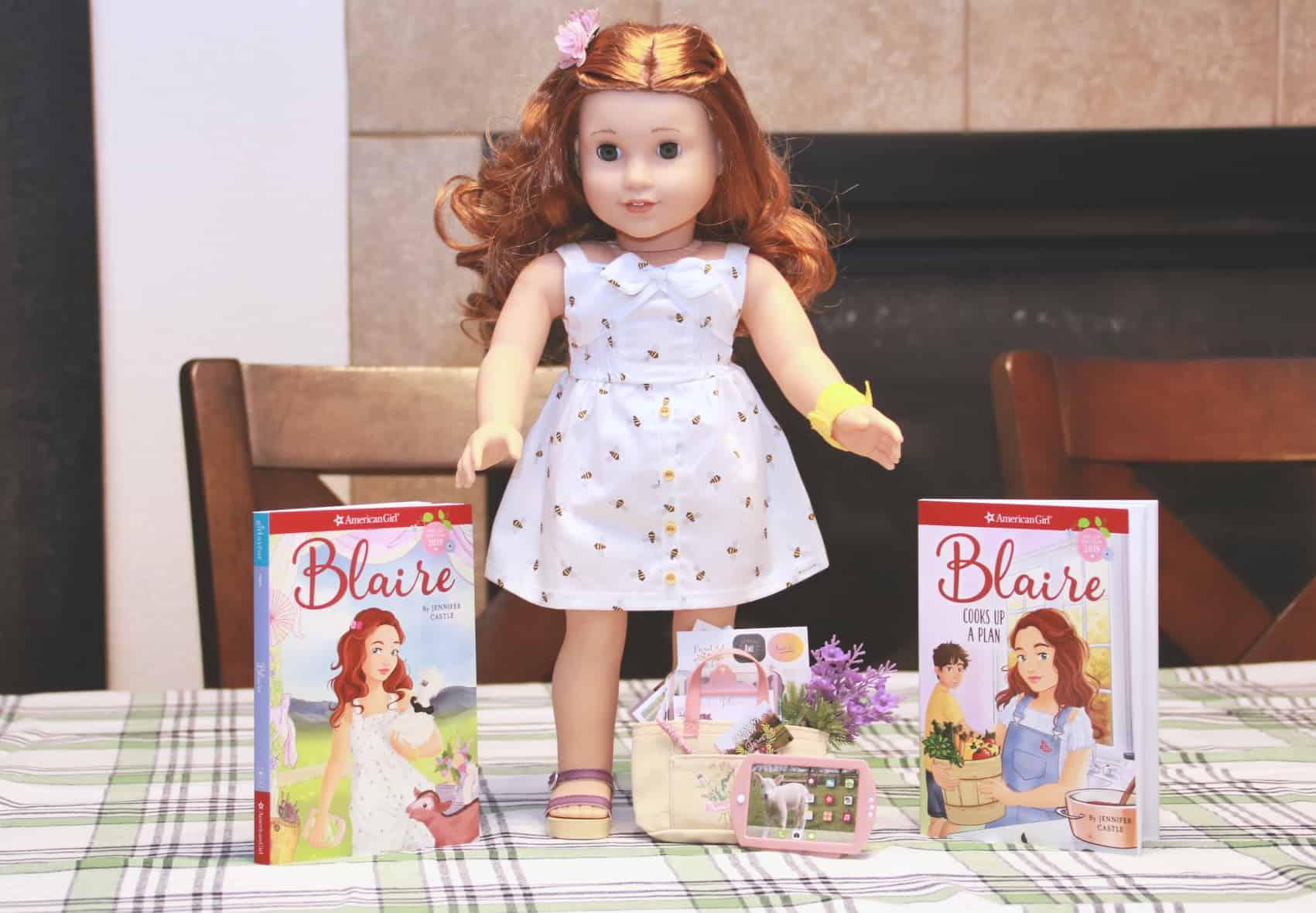 American Girl Doll Blaire Wilson Girl of The Year 2019 New In Box-no meet+Bonus