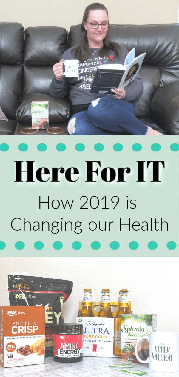 #ad #ResolutionsatWalmart #SplendaNaturals #IC Changing our Health, swapping sugar for Splenda, low sugar drinks, low sugar beer, keto supplements, low carb supplements, how to be here for it