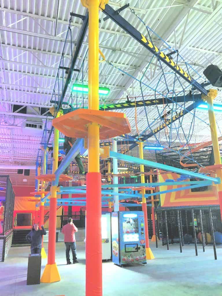 Urban Air ropes course