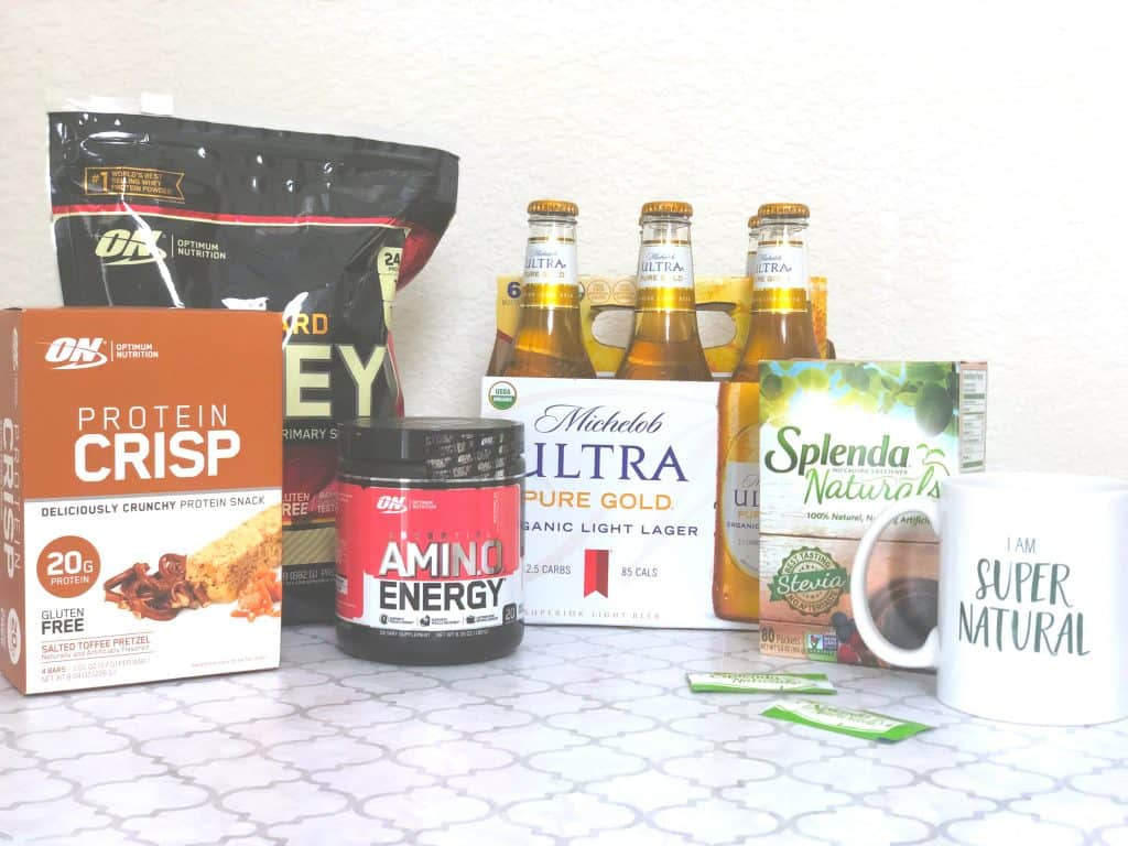 Changing our Health, swapping sugar for Splenda, low sugar drinks, low sugar beer, keto supplements, low carb supplements, how to be here for it