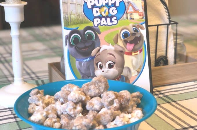 Playtime with Puppy Dog Pals on DVD and Puppy Chow Popcorn!