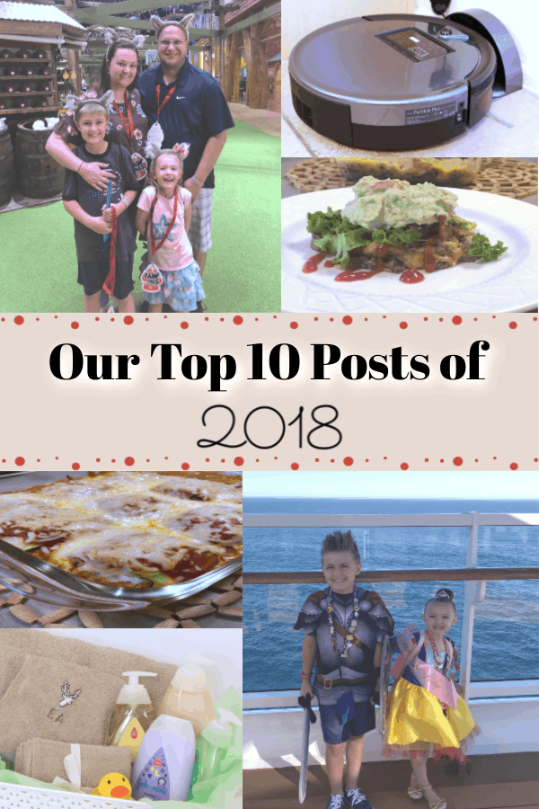 top 10 posts of 2018, easy low carb recipes, easy keto recipes, Robot vacuums, Great Wolf Lodge Tips for First time visitors, How to make a hooded towel, Unique baby gifts
