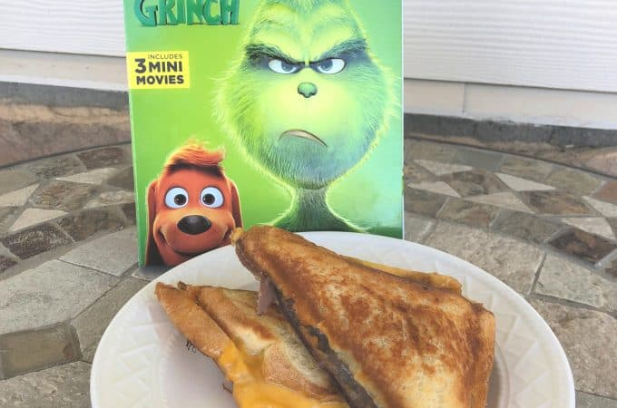 The Grinch is Here and this Grilled Roast Beast Sandwich is a MUST!