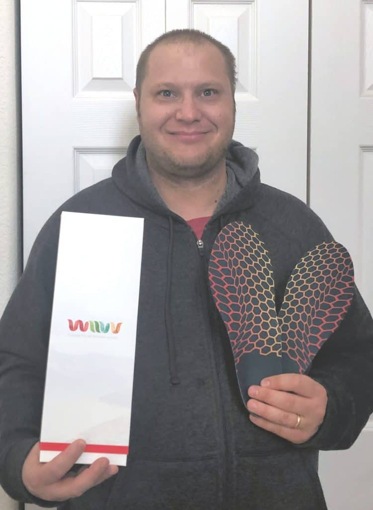 Wiivv custom insoles, wiivv insoles, custom insoles review, 3d printed insoles, the best custom insoles on the market, wiivv promo code, best insoles for cops, best insoles for police, best insoles for teachers, insoles for back pain, insoles for foot pain
