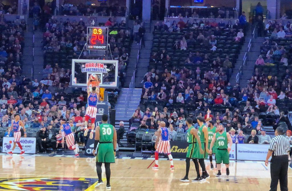 Things first timers need to know about the Harlem Globetrotters, Harlem Globetrotters promo code 2019, First timer tips for seeing the Harlem Globetrotters
